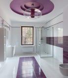 Luxury restroom interior Stock Photography