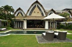 Luxury retreat spa and villa Royalty Free Stock Photography