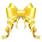 Luxury ribbon. With white background Royalty Free Stock Photo