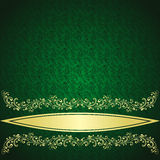 Luxury rifle-green Background. Stock Photography