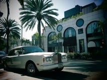 Luxury Rolls Royce car Stock Photography