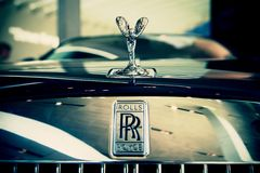 Luxury Rolls Royce Royalty Free Stock Photos