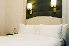 Luxury room bedroom Warsaw Poland Europe Stock Image