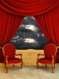 Luxury room on the desert Royalty Free Stock Photo