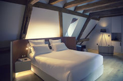 Luxury room in hotel Royalty Free Stock Image