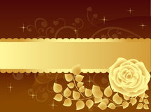 Luxury rose background Stock Images