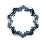 Luxury round frame with empty copy-space, classic heraldic blank Royalty Free Stock Photos