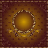 Luxury royal background Stock Images