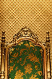 Luxury royal chair Royalty Free Stock Image