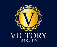 Luxury, Royal and Elegant Logo Vector Design, Beautiful Template Royalty Free Stock Photography