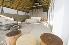 Luxury safari lodge in Namibia Stock Photos