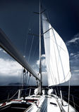 Luxury sail boat Stock Photography