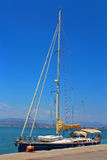Luxury sail yachts, Greece Stock Photography
