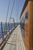 Luxury sailboat Royalty Free Stock Images