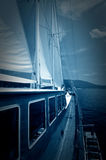 Luxury sailboat Stock Photography