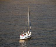 Luxury sailboat Royalty Free Stock Photo