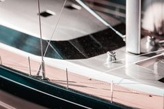Luxury, in scale, model yachts. Sailing life, big projects, future plans. Naval design and engineering in detail. royalty free stock photography