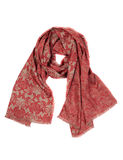 Luxury scarf, isolate Royalty Free Stock Images