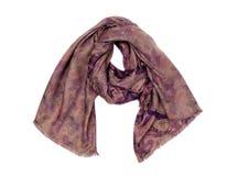 Luxury scarf, isolate Royalty Free Stock Photos