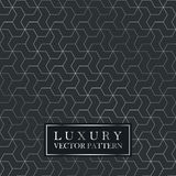 Luxury seamless geometric pattern - grid gradient texture. Dark vector background Royalty Free Stock Images