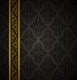 Luxury seamless gothic background. Royalty Free Stock Images