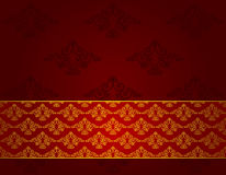 Luxury seamless gothic background. Royalty Free Stock Image
