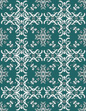 Teal blue seamless pattern Royalty Free Stock Images
