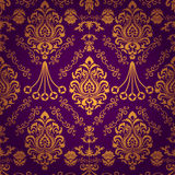 Luxury seamless pattern Stock Photos