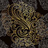 Luxury seamless pattern Royalty Free Stock Photos