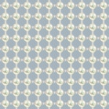 Luxury seamless pattern with white pearls Stock Photo