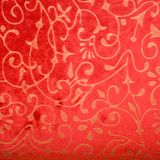 Luxury seamless wallpaper. Luxury seamless red floral wallpaper background royalty free stock image