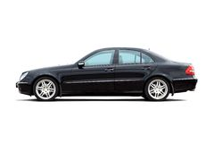 Luxury sedan Stock Images