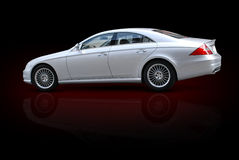 Luxury Sedan Royalty Free Stock Photography
