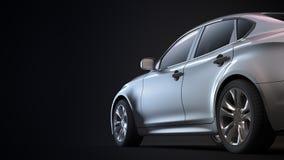 Luxury sedan Royalty Free Stock Photography