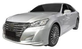 Luxury sedan. Isolate on white Stock Photo