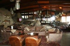 Luxury serengeti lodge Royalty Free Stock Image