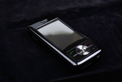 Luxury shiny pda on velvet. Royalty Free Stock Photos