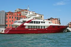 Luxury Ship Stock Photo