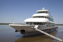 Luxury ship Stock Image