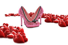 Luxury shoes Royalty Free Stock Photography