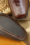 Luxury shoes 39. Luxury shoes from exotic leather Stock Images
