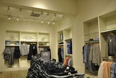 New York City, 2nd July: Luxury Shop interior from Manhattan in New York City in United States stock image