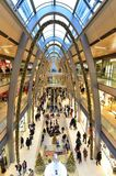 Luxury shopping center interior in Germany Royalty Free Stock Photography