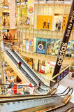 Shopping center mall in Prague Stock Photography