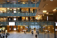 Luxury shopping center in Tokyo Stock Photography