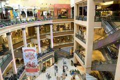 Luxury shopping mall Stock Images
