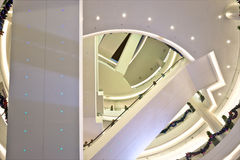 Luxury shopping mall. Royalty Free Stock Photos