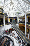 Luxury shopping mall in Berlin Stock Images
