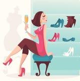 Luxury shopping Stock Images