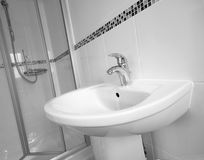 Luxury Shower Royalty Free Stock Photos